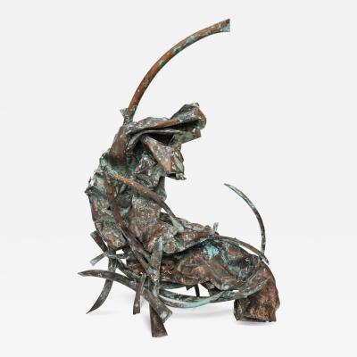 Claire McCarthy Falkenstein Untitled Sculpture by Claire Falkenstein Fire Series