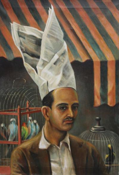 Clarence H Carter The Bird Vendor of Caracas
