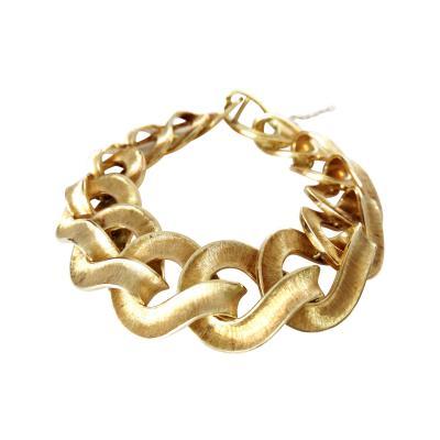 Classic Chic 60s 18K Italian Link Bracelet