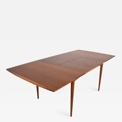 Classic EAMES Paul McCobb Midcentury Modern Walnut DINING TABLE 1950s USA