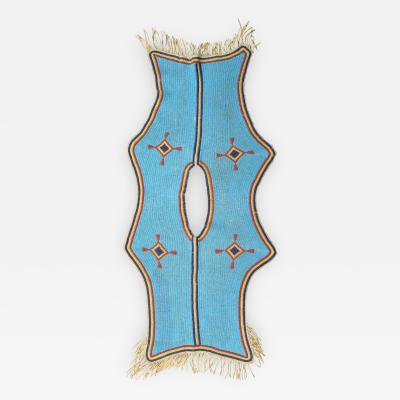 Classic Period Plains Indian Beaded Dress Yoke