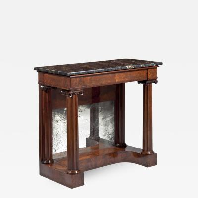 Classical Carved Mahogany Pier Table