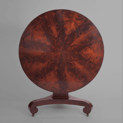Classical Mahogany Center Table