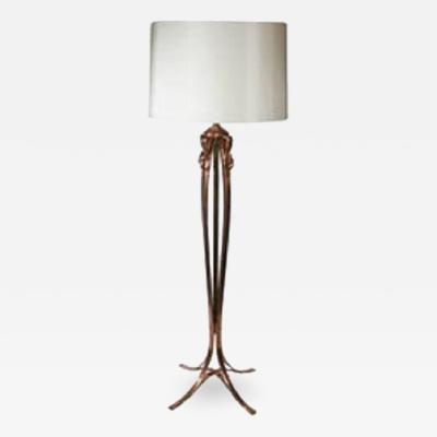 Classical Modern Bronze Floor Lamp
