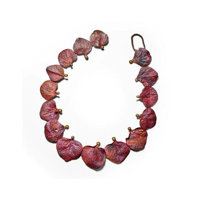 Claude Lalanne French Bronze Necklace by Claude Lalanne