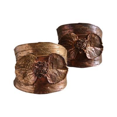 Claude Lalanne Pair of Cuff Bracelets