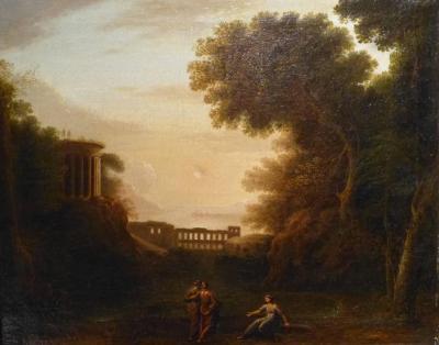 Claude Le Lorrain 17th Century Pastoral Landscape