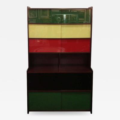 Claude Vassal Claude Vassal French 50s Book shelf Cabinet