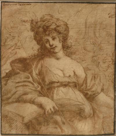 Claude Vignon Study of Sybille