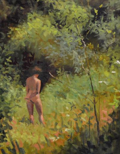Clem Robins Woman in the Meadow