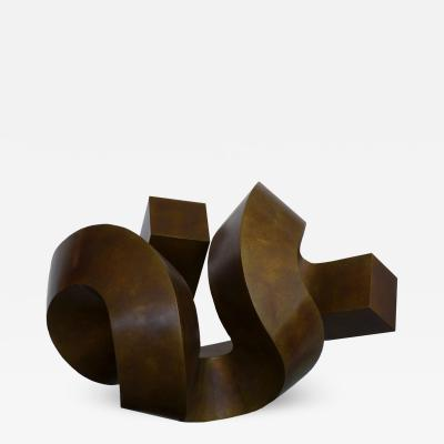 Clement L Meadmore Clement Meadmore Bronze Sculpture Round Midnight