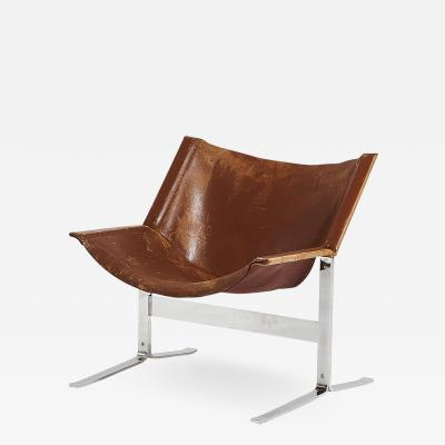 Clement L Meadmore Sling Chair Model 248 by Clement Meadmore circa 1970
