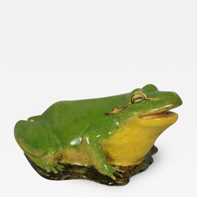 Clement Massier Clement Massier Frog Figure