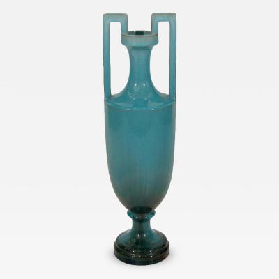 Clement Massier Rare Art Nouveau Vase Attributed to Clement Massier