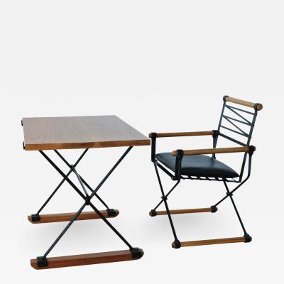 Cleo Baldon Cleo Baldon for Terra Desk and Campaign Chair 1960s