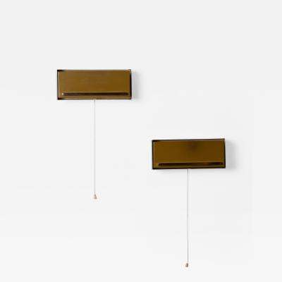 Clever Pair of Adjustable Bedside Sconces by Neuhaus Leuchten Germany
