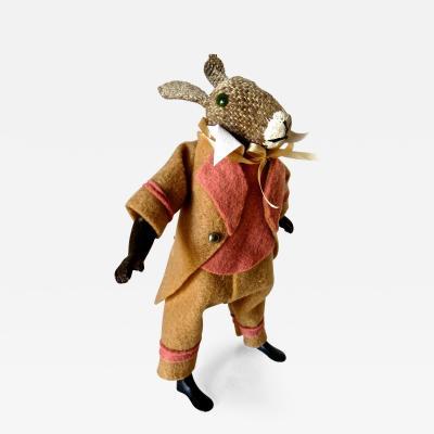 Clockwork Walking Rabbit Circa 1890
