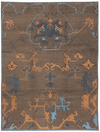 Cloud Oushak Hand Knotted Rug