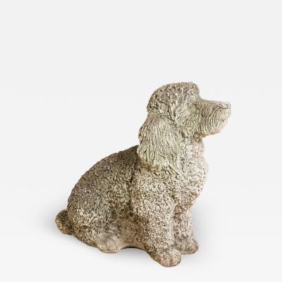 Cocker Spaniel Dog Stone Garden Ornament