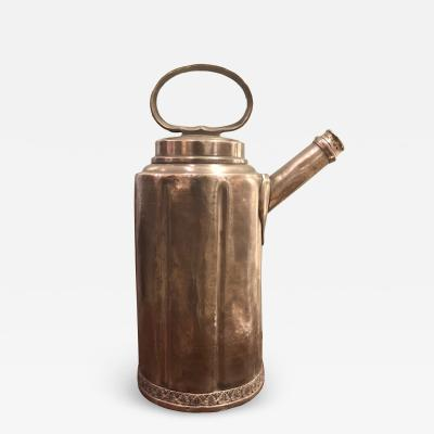 Coffee Pot Pewter 18th Century Sweden