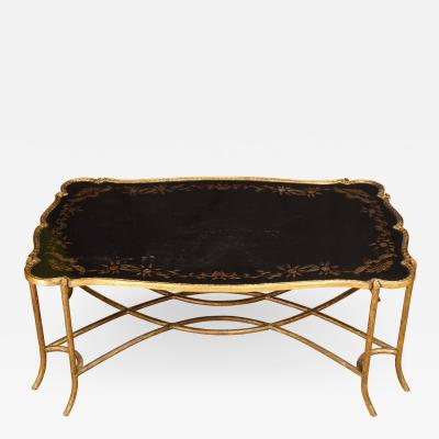 Coffee Table with Chinoiserie Top