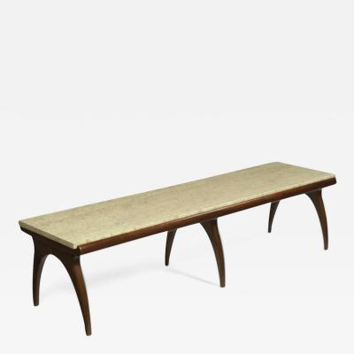 Coffee table designed by Bertha Schaefer Singer Sons