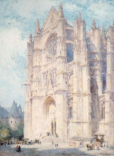 Colin Campbell Cooper Beauvais Cathedral