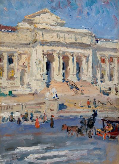 Colin Campbell Cooper New York Public Library