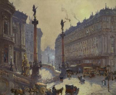Colin Campbell Cooper Place de l Op ra Paris
