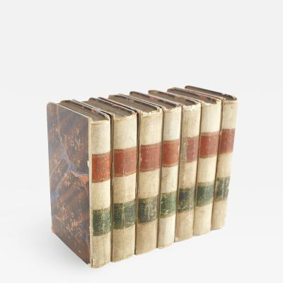 Collection Small Pocket Leather Bound Book