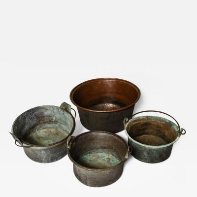 Collection of Copper Containers