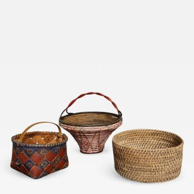 Collection of Three Swedish Baskets