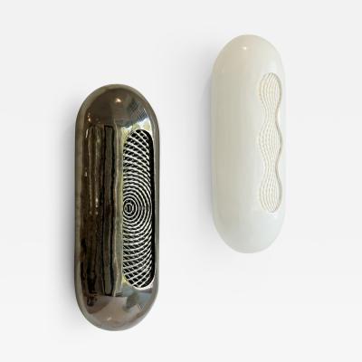 Colleen Carlson Colleen Carlson Stoneware Pill Sconces USA 2017