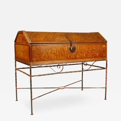 Colonial Marquetry Arcon