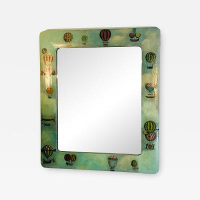 Colorful Mirror with Balloon Designs