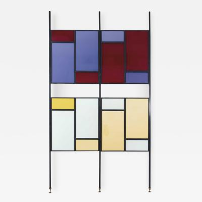 Colourful Midcentury Modern Italian Partition Wall Room Divider