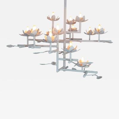 Compressed Lotus Chandelier Small