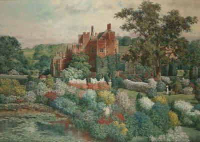 Compton Wynyates Warwickshire by Hughson Hawley