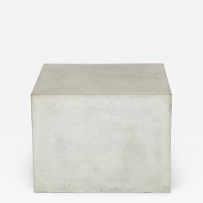 Concrete Block Forming a Cocktail Table