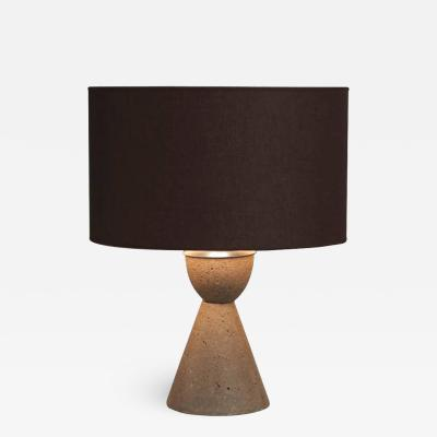 Concrete Steel Table Lamp
