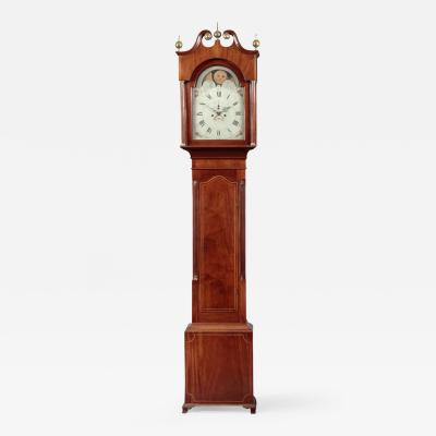 Conklin Family Federal Inlaid Tall Case Clock