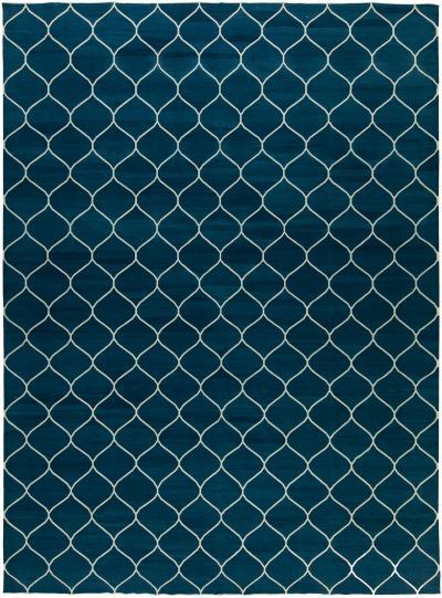 Contemporary Capri Blue Rug