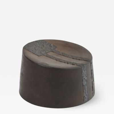 Contemporary Ceramic Drum Sculpture Tambour III