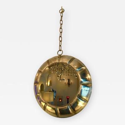 Contemporary Chain Brass Mirror Italy