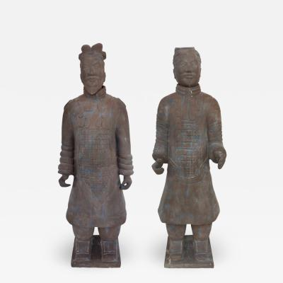 Contemporary Life Size Chinese Terracotta Army Warriors