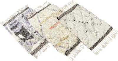 Contemporary Moroccan Style Custom Wool Rug