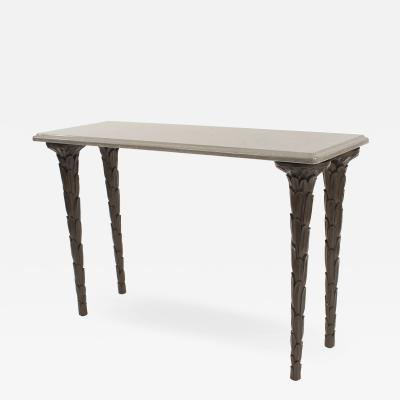 Contemporary Regency Style Console Table