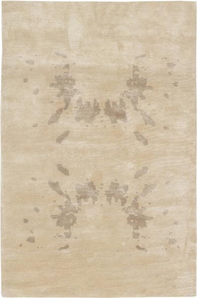 Contemporary Silk Rug