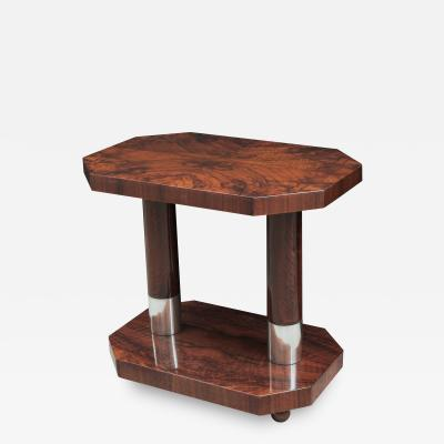 Contemporary Two Tier side Table