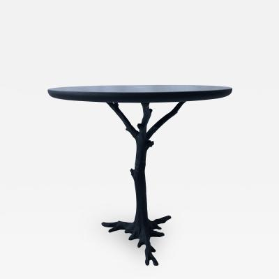 Contemporary table Iron base with an Unique art piece designed by ABDB Studio